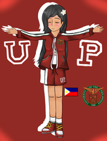 Hetalia Piri - University of the Philippines Piri by adventvera16