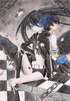 Black Rock Shooter by Kachanx23