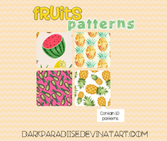 Fruit patterns by DarkParadiise