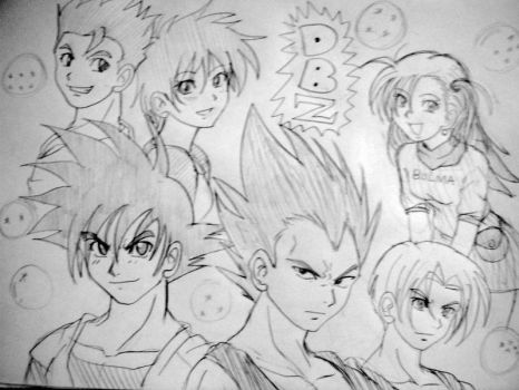 Dragon Ball By Trayvontae hunter by atomixartist