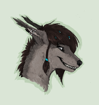 Headshot dla Fluffy-Mongrel by Hienkaaaaaaa