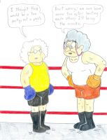 Boxing Muriels by Jose-Ramiro