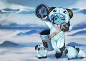 Tristana Yordle Poro Skin by ShineArtworks