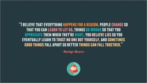 Quote - Marilyn Monro by dhysa