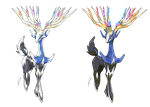 Xerneas - Old S. and Modern Style by Tomycase