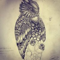Fate Owl (wip) by AnaMSTOlson