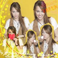 Blend Miley Cyrus 2 by Valen025