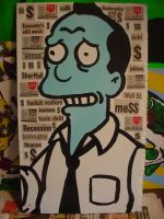 The Simpsons Recession  Gil by chrispjones