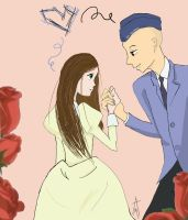 Love, Ouran Style (Bart and Kayla) by Ashelectric