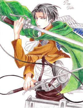 Levi Rivaille by IsSkyBlue