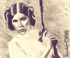 Princess Leia Blaster by David-c2011