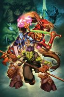World of Warcraft 23 cover by Tonywash