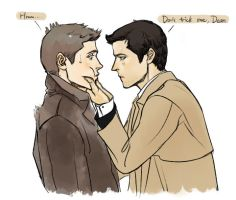 destiel by K2Karine