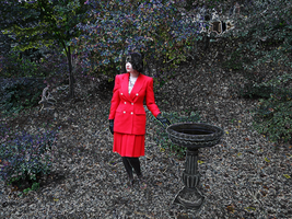 Red Suit Outdoors IV by Atlantagirl