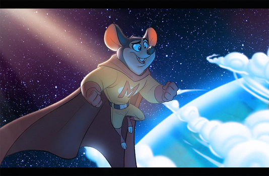 Mighty Mouse by Javas