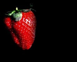strawberry at night by peps4o