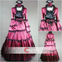 Palace Style Trumpet Gothic Classic Lolita Dress by wendywei2012