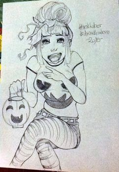 6. Pumpkin #inktobber #drawlloween by Nee-Jaku