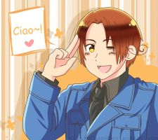 Italy - Ciao~! by xXKikaru-ChanXx