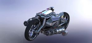 Solidworks Mortorcycle by Celh