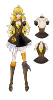 Darling Army Pinafore entry 4#: Yang Xiao Long by chi171812