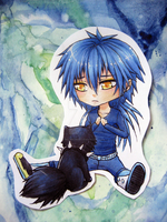 Chibi Aoba by Weiden-Rose
