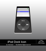 Ipod Dock Icon by Victomized