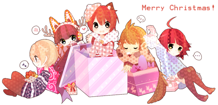 [Daily Deviation] Merry Christmas 2012 by inkogeki