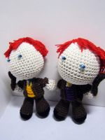 Fred and George Weasley by Nissie