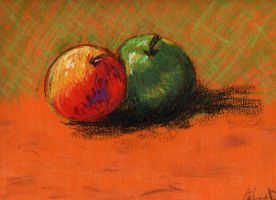 Apple by celinissime