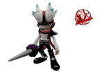 Specter || Ape Escape by JA-Renders