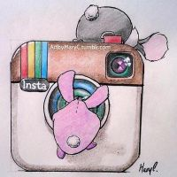 I haz an Instagram by ArtbyMaryC