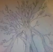 lord of the rings tree herder by lets-cry-ACID-tears