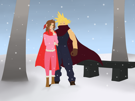 aeris cloud contest entry by twinlightownz