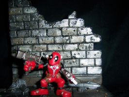 'Lil Deadpool by PsychosisEvermore