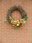 Stock Autumn wreath by OsorrisStock
