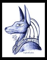 ANUBIS by RegineSkrydon