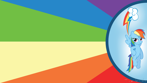 Rainbow Dash Wallpaper by Ackdari