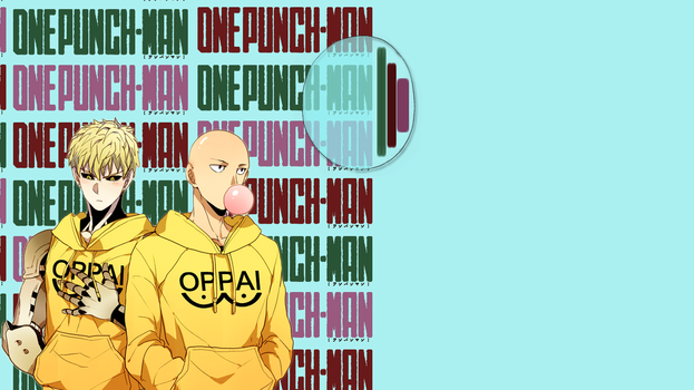 One Punch Man Wallpaper by spiralme
