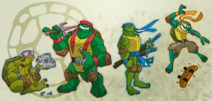 i like turtles by chief-orc