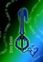 Keyblade - New Hope - by WeapondesignerDawe