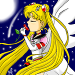 Eternal Sailor Moon Rose by SailorBomber
