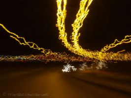 Highway's lights by Mprintochainis