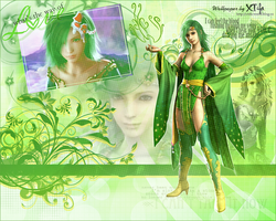 Rydia from FFIV wallpaper by ladylucienne