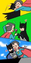 SupermanxBatman by Bloodmilkk
