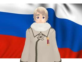 MMD Hetalia model:Russia by Ash080897