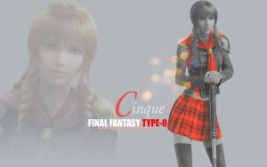 Final Fantasy Type-0 - Cinque Wallpaper by KibanKurosaki