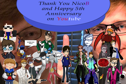 NicoB Collage by SL-ShadowLeagueGamer