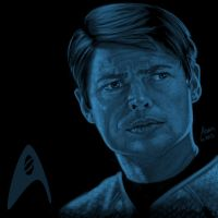 Star Trek portrait series 07 - Bones McCoy - Urban by jadamfox
