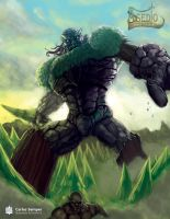 Forest Golem by SemperII